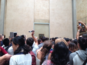 The craziness of the Mona Lisa