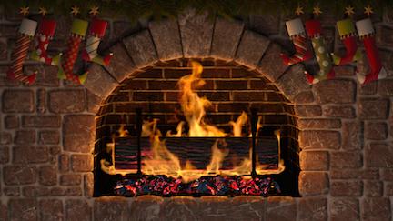 fireplace small