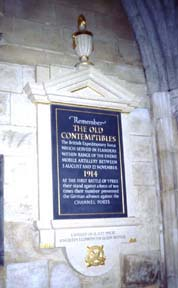 BEF, Old Contemptibles memorial