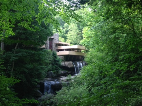 Fallingwater- Frank Lloyd Wright. Taken by R. Chancellor